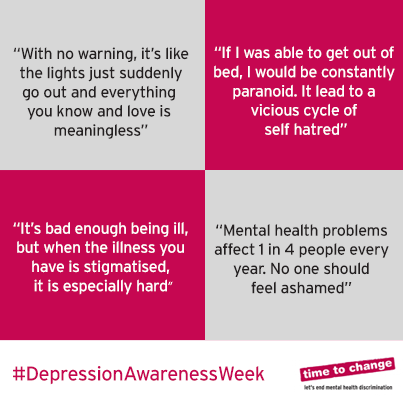 Depression  Awareness Week 2015